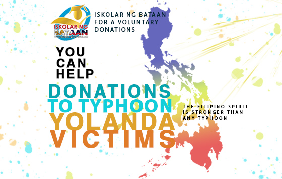 Iskolar ng Bataan for a voluntary donations