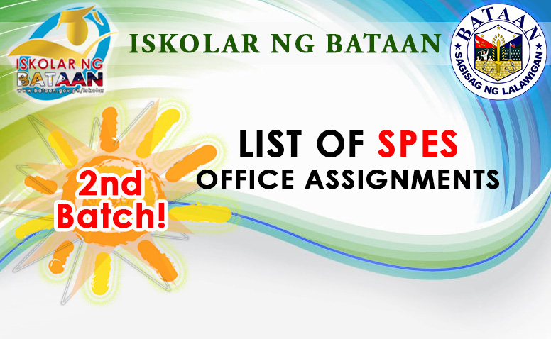 2nd Batch of SPES List Assignment