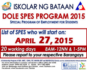 SPES 2015 start