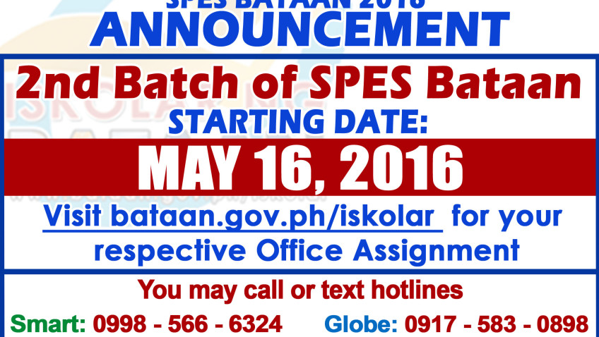2nd Batch SPES Bataan 2016 – Office Assignment